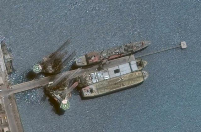 Kharg (431) replenishment ship