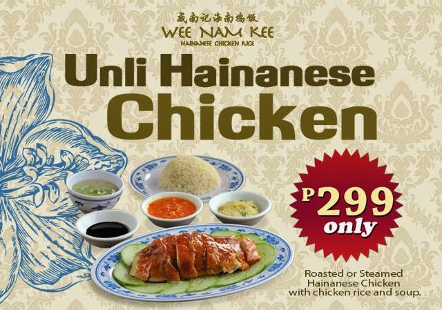 Wee Nam Kee Unlimited Hainanese Chicken
