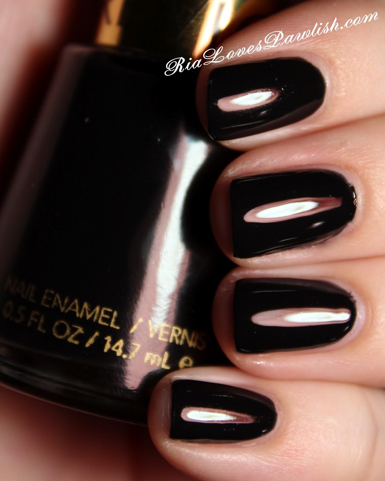 Ria Loves Pawlish: Revlon Black Lingerie
