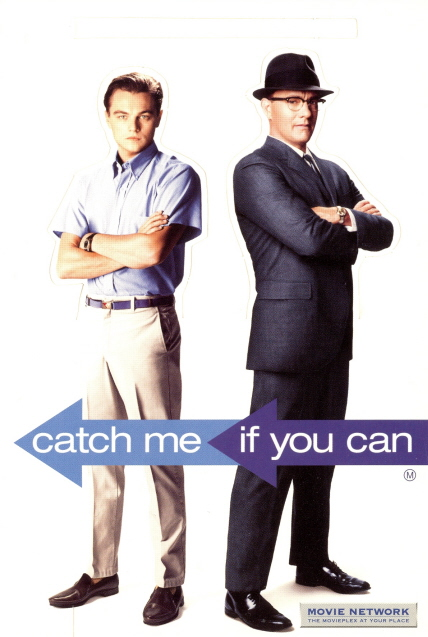 my favorite movies and stars catch me if you can cutout