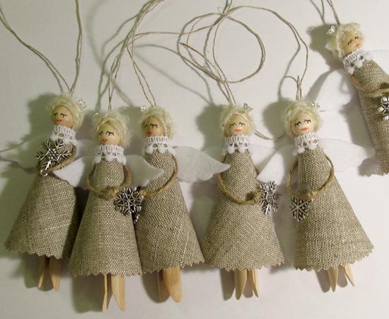 Christmas Angels, рождественские ангелы