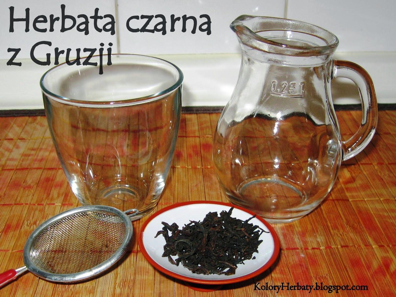 Herbata czarna z Gruzji