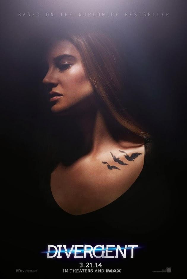 Két új divergent poszter tris és négyes tetoválásaival