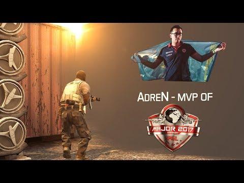 Video: AdreN - Nhận được huy chương MVP của PGL Major Krakow 2017