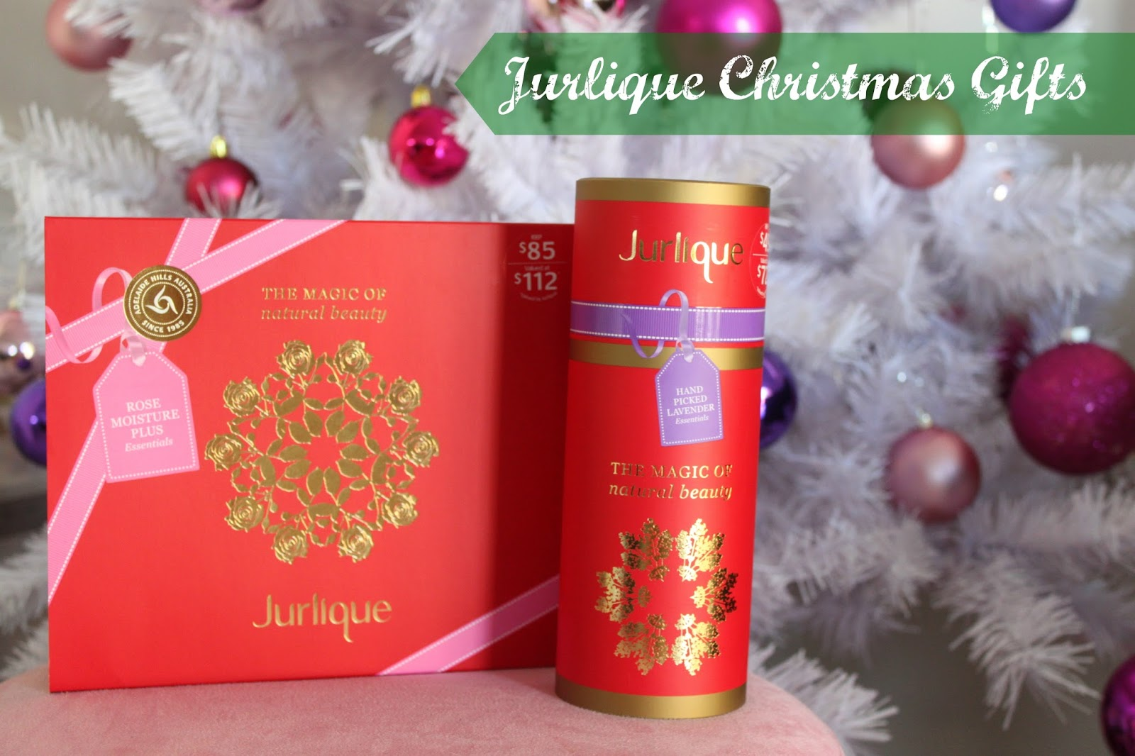 Australian Beauty Review: Jurlique Christmas Gift Sets