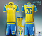 sweden ff svenska football kit jerković design