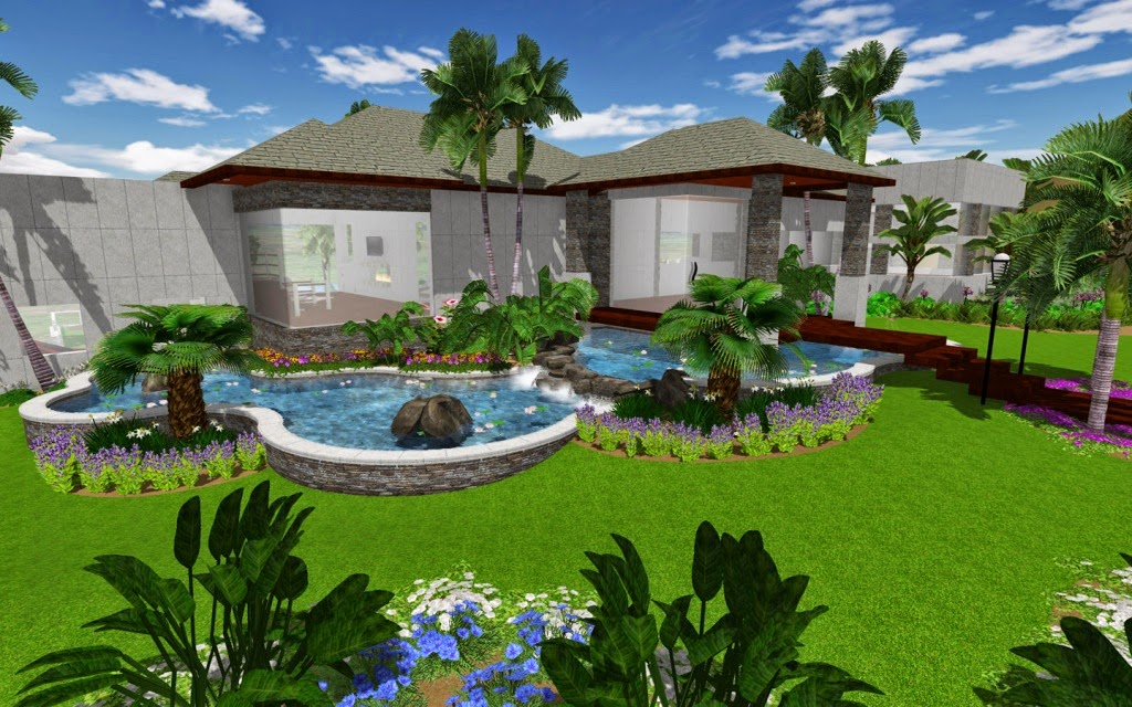 Expert building free landscape design software online for Garden design new build house