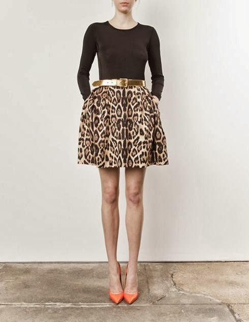 Vía Pinterest por Lauren Fisch en http://madebygirl.blogspot.ca/2013/06/design-coral-leopard.html