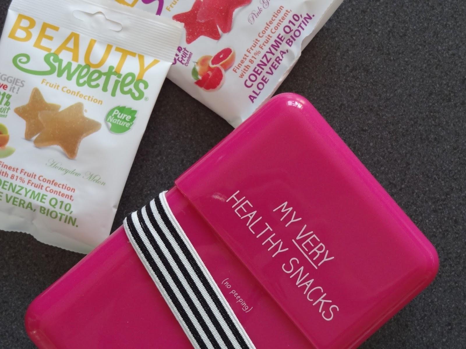 Holland and Barrett Beauty Sweeties Healthy Snacks