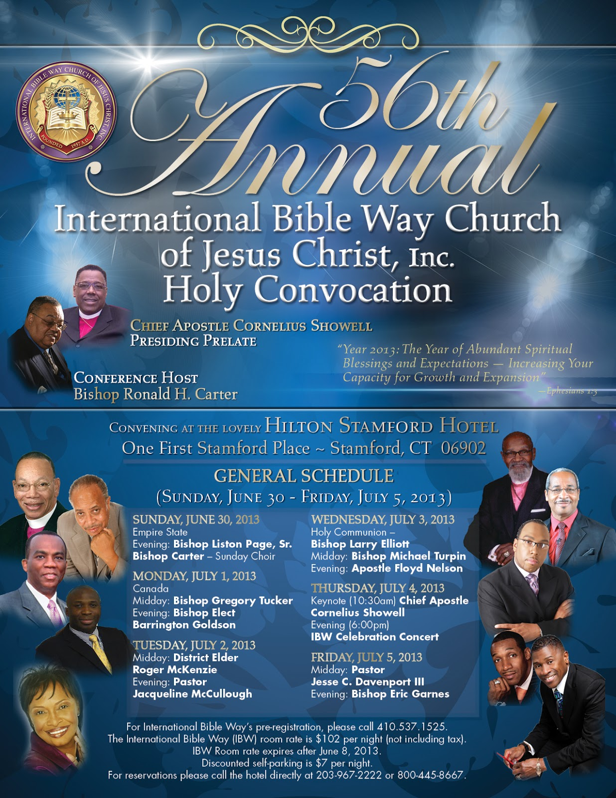 Pentecostal Perspective: International Bible Way Church of Jesus Christ's 56th Holy Convocation