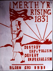 Red Flag Rises in Wales in 1831