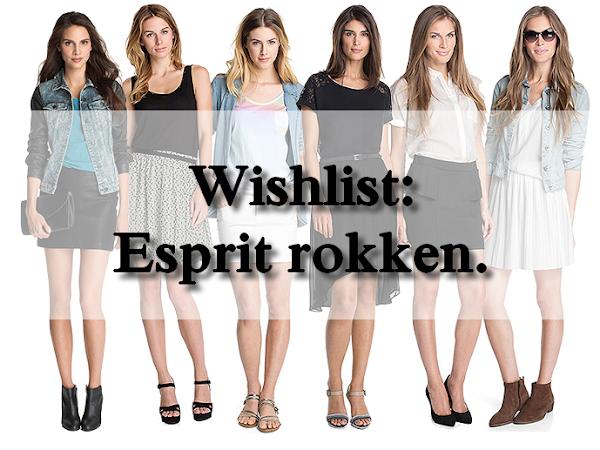 Wishlist: Esprit rokken.