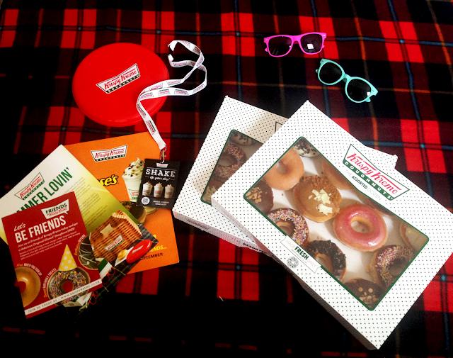 Krispy Kreme Hamper Contents
