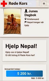 Hjelp Nepal!
