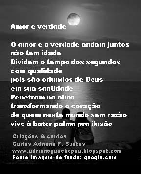 Poema de  Carlos Adriano F. Santos