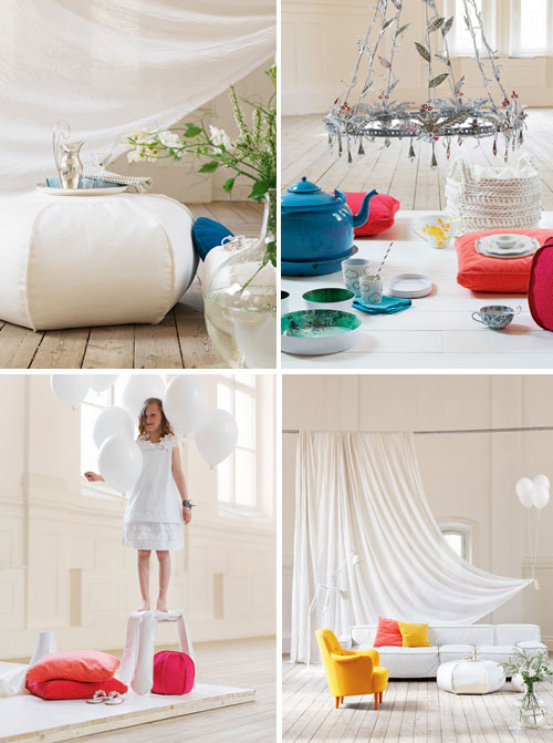 summer loving..interiors and colour inspiration | white by mehar