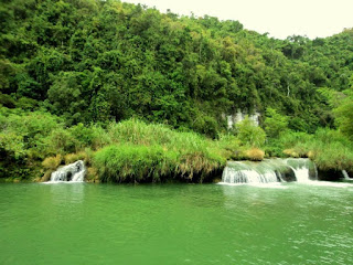 view at loboc river cruise