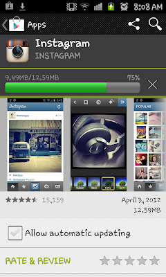 instagram download android