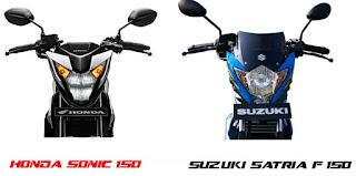 All New Suzuki Satria FU-150,… siap menggebuk Honda Sonic 150… bikin galau Konsumen aza …???