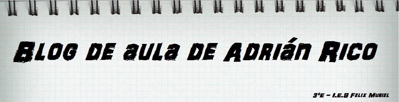 Blog de aula de Adrián Rico