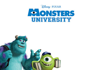 Pixar Monsters University 3D HD Wallpaper