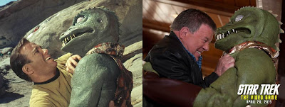 It's Shatner Vs The Gorn... Again In Star Trek: The Video Game
