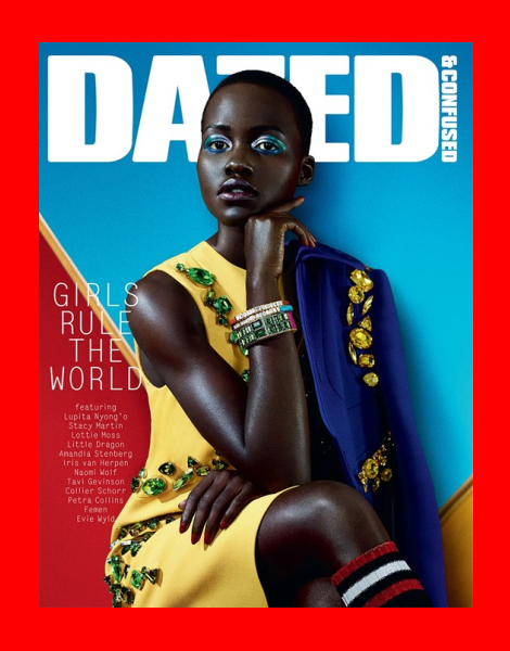 Lupita Nyong'o covers Dazed & Confused February 2014