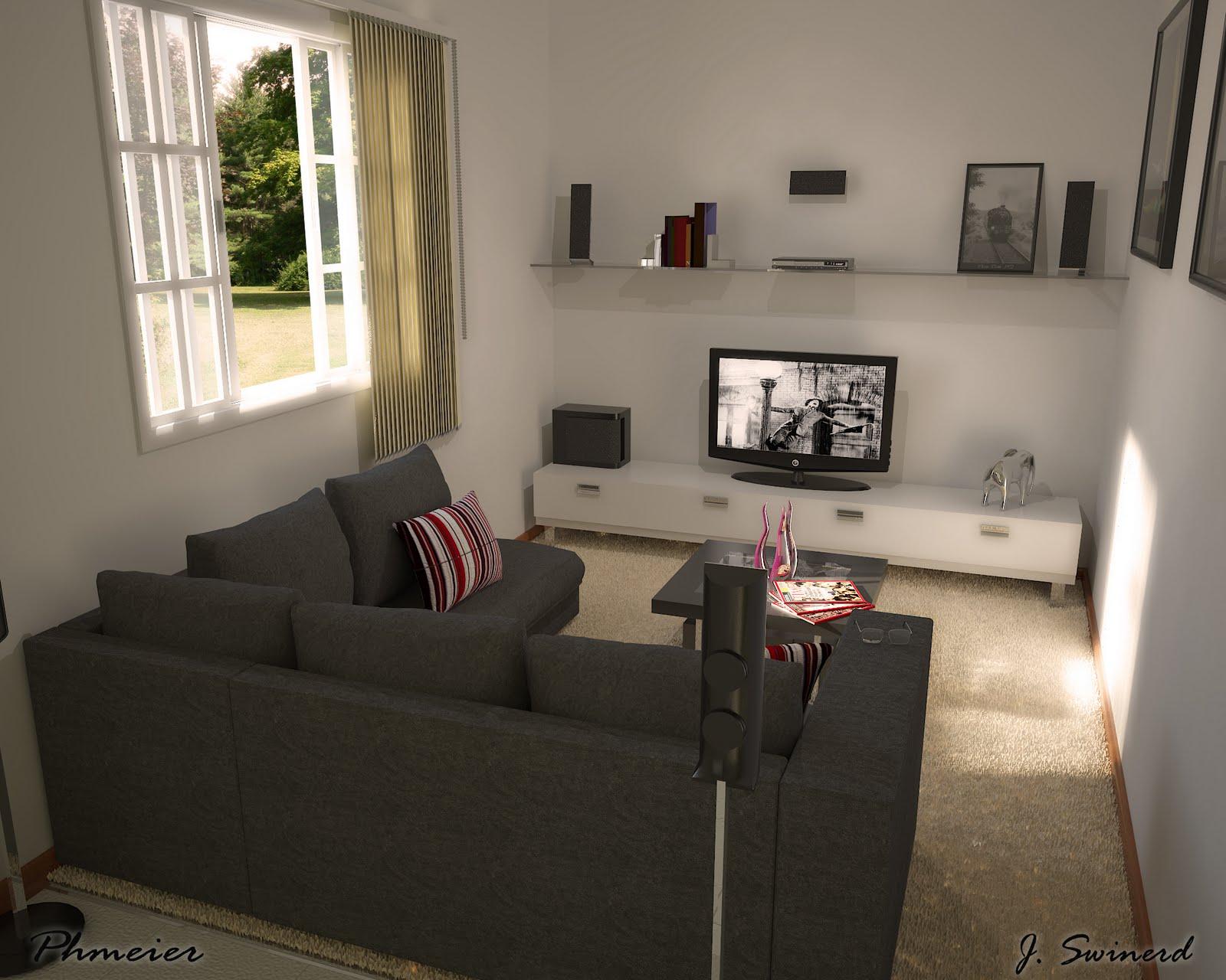 Sala Tv Pequena Decorao Da Sala De Tv Pequena Simples Grande Fotos  -> Sala De Tv Tamanho