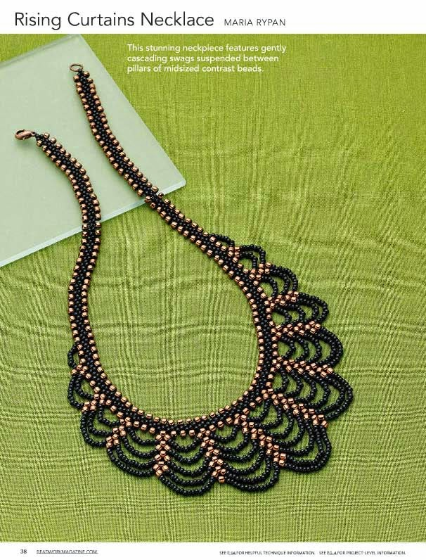 Rypan Designs: Rising Curtains Necklace