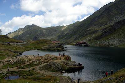 Balea Lac. Jezioro Balea.