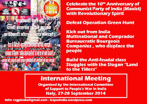 International Meeting to Support the People's War in India in occasion of the Anniversary of CPI(M)