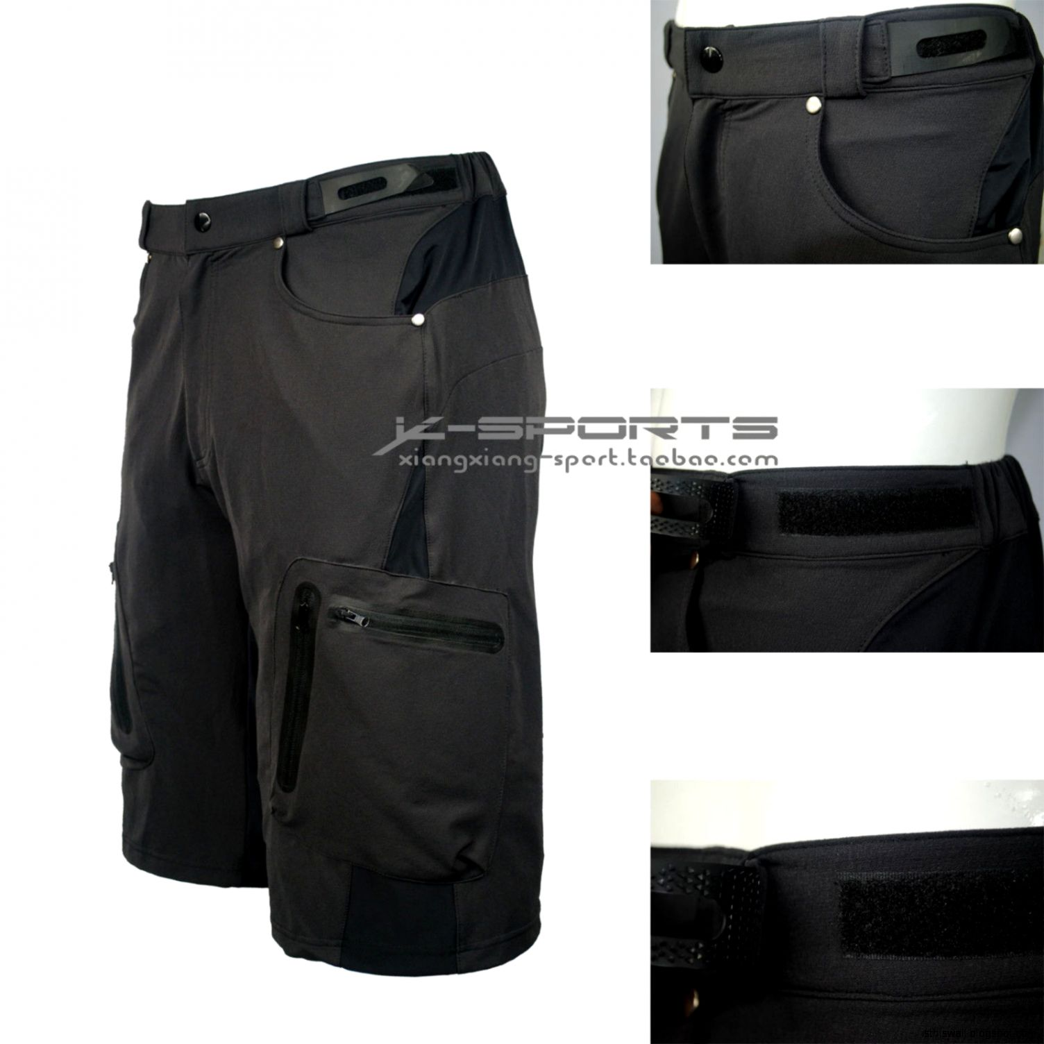 Mountain Bike Shorts Men Padded