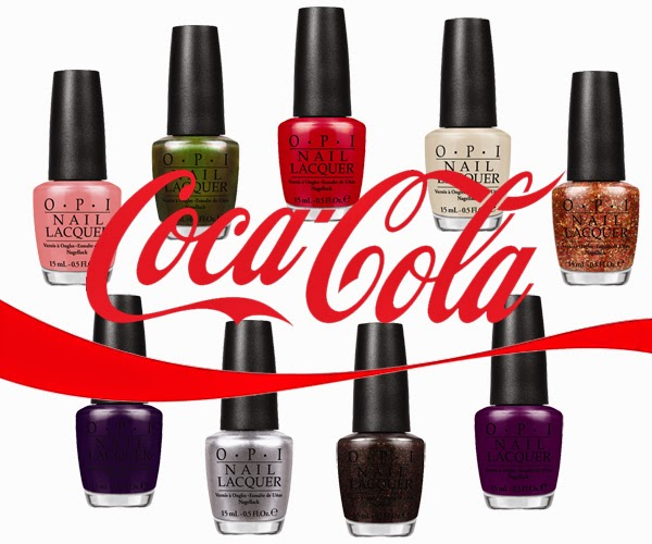OPI Coca Cola, Coca Cola by OPI, OPI Nail Polish, OPI Coca Cola Review, OPI Coca Cola Swatches, OPI Summer 2014