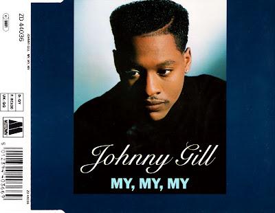 Johnny Gill - My, My, My-(UK-CDS)-1990