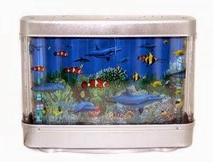 Оригинальный Светильник ночник Аквариум для детской комнаты и офиса