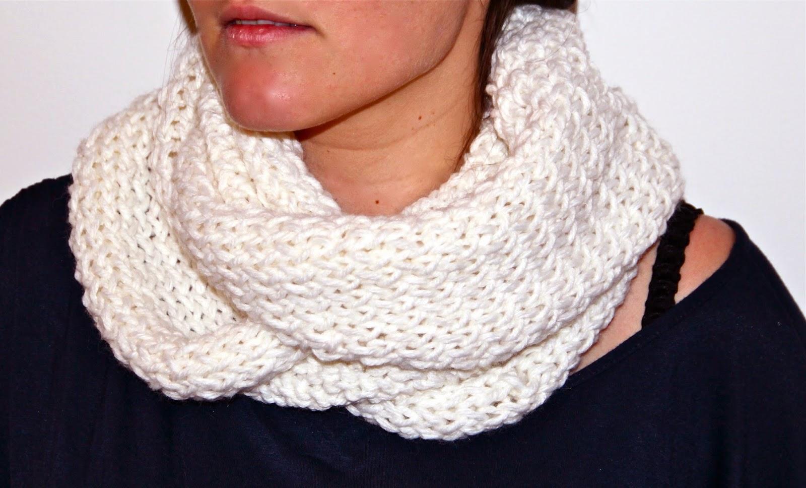 bufanda de lana de doble vuelta