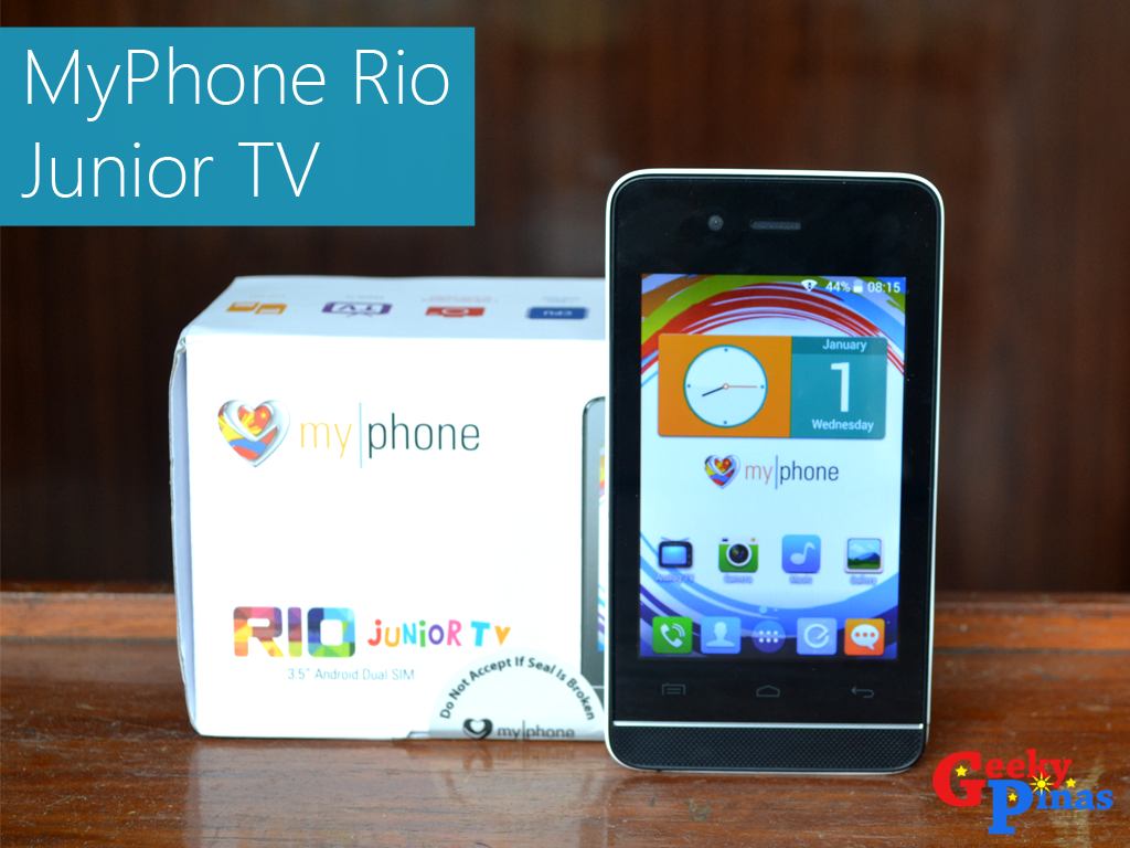 MyPhone Rio Junior TV, A Budget Android Smartphone With TV, Full Review