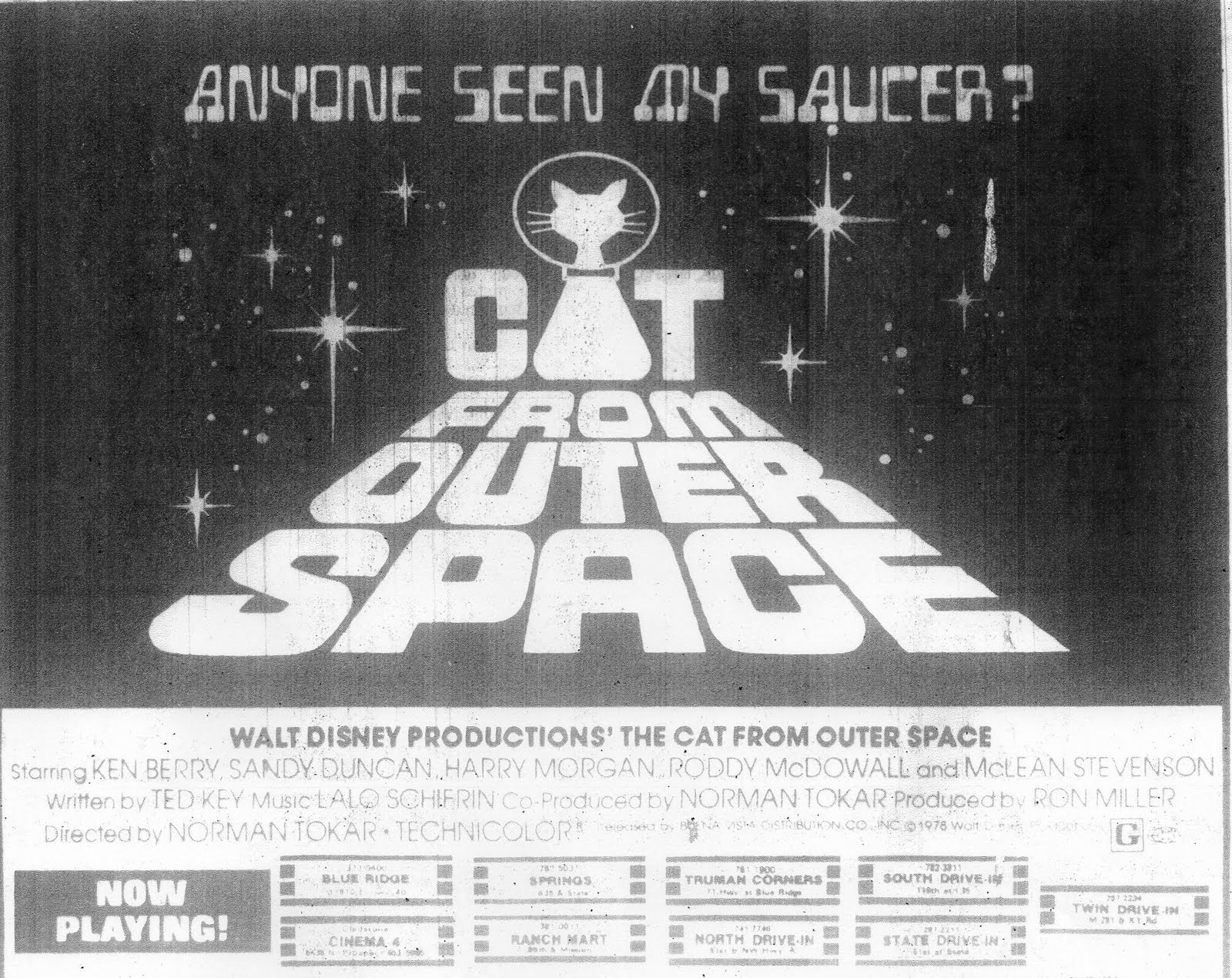 the cat ladies  the cat from outer space  1978