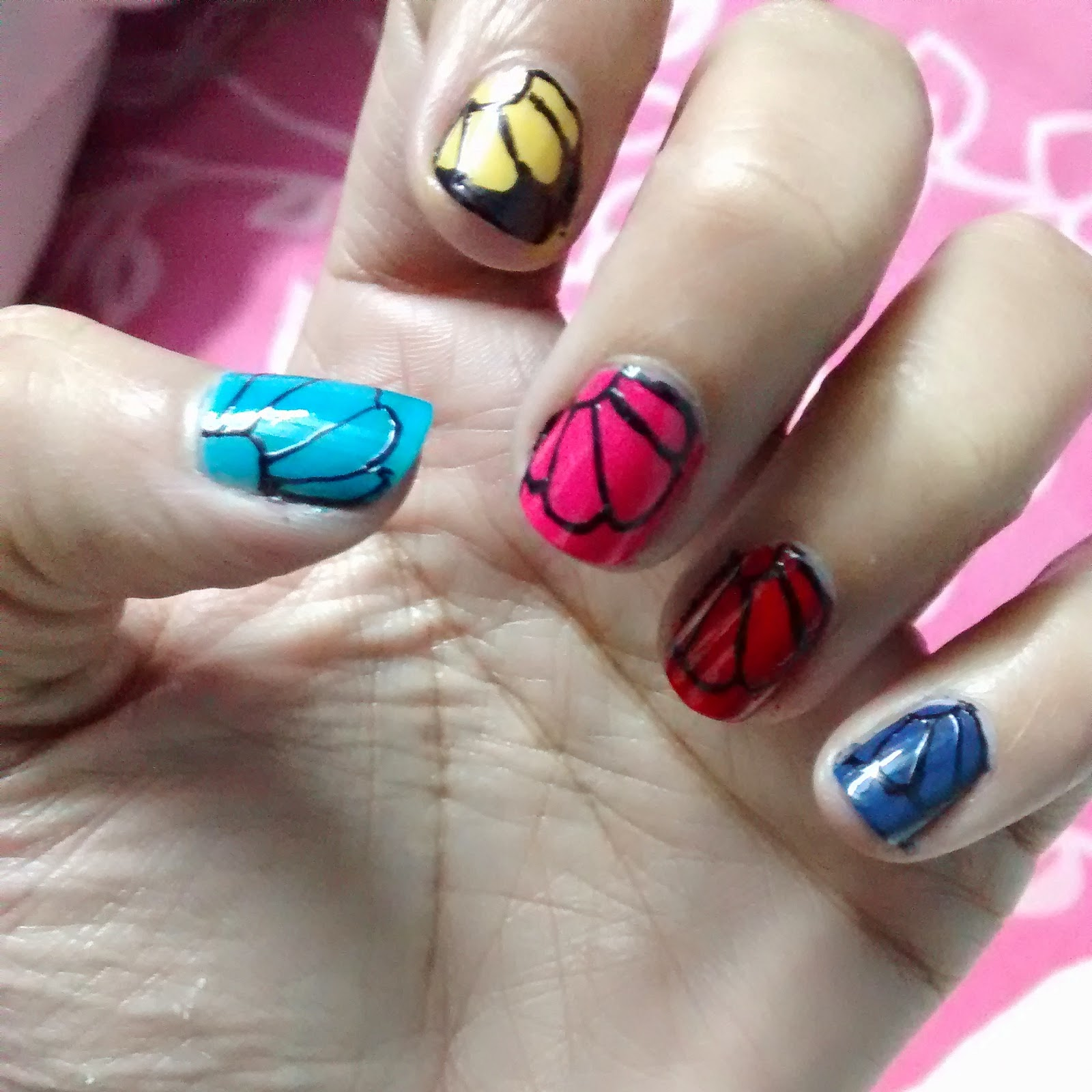 Diy Butterfly Nail Art Fashion Chanzer