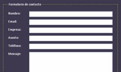Formulario de Contacto es muy importante