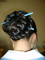 longhairfoto Braided Bun Hairstyles Braided Updos Pictures