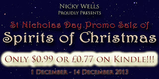 spirits of christmas promo