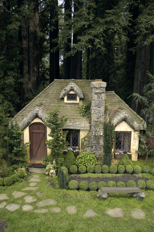 Aplaceimagined english cottage playhouse for What is a cottage
