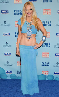 Charlotte Ross at Perez Hilton's Birthday Party