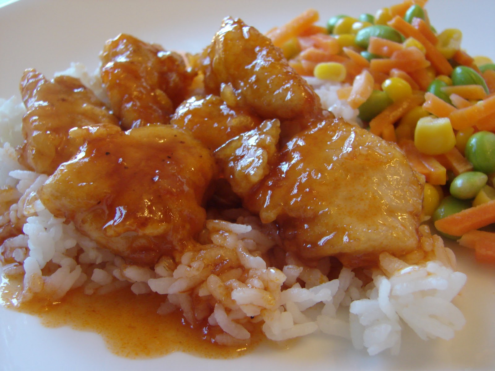 A Bear in the Kitchen: Sweet and Sour Chicken