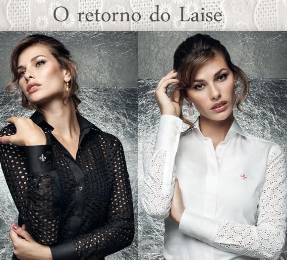 moda estilo dudalina feminina laise camisa corte costura