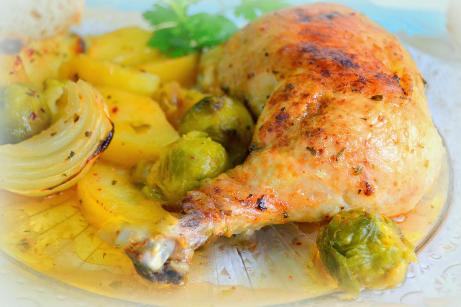 Pollo al horno | CocinaconMarta.com