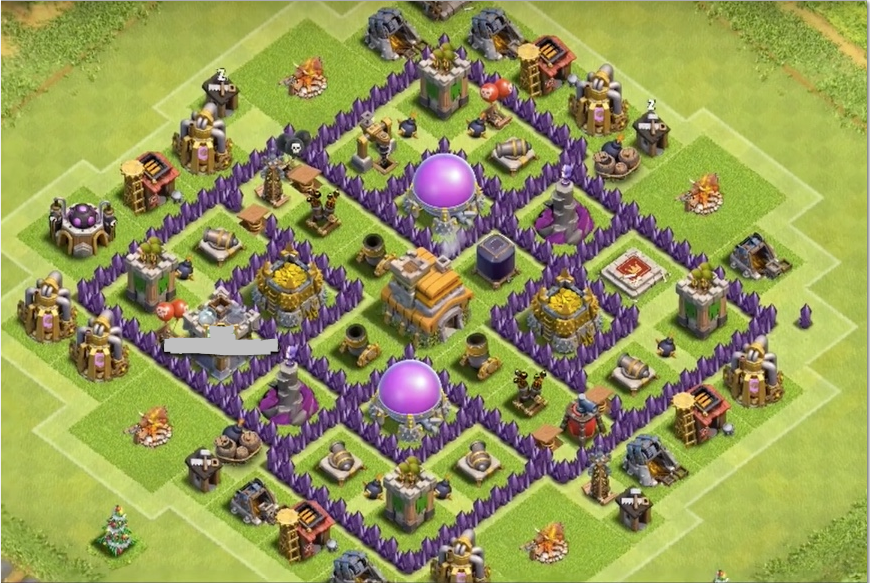 Attractive Town Hall 7 Home Base Design Part - 6: Www.clashofclansdesigns.com -best Farming Base