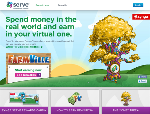 Serve - Zynga Rewards