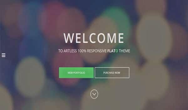 Flat-One-Page-WordPress-Theme